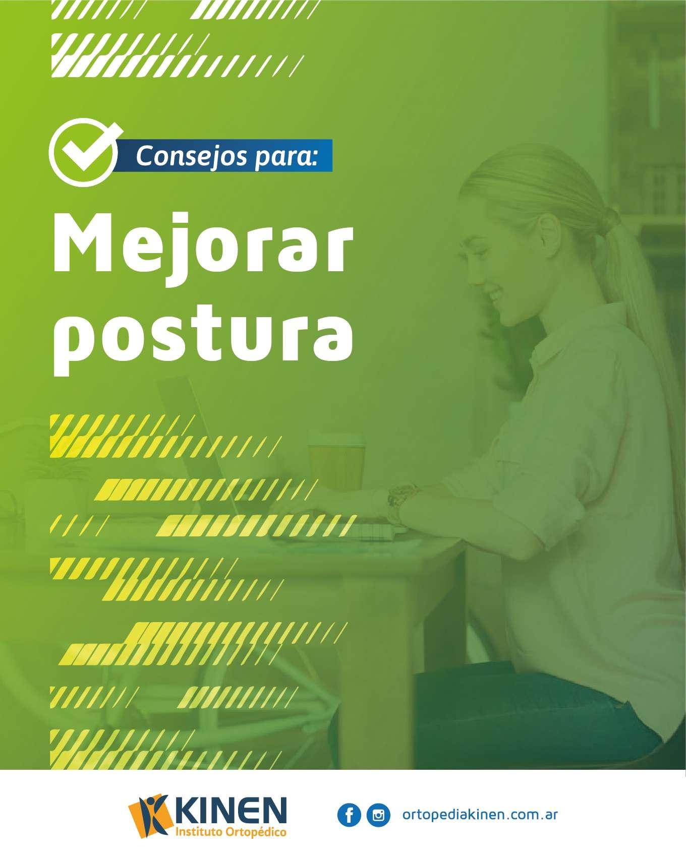 Consejos sobre postura