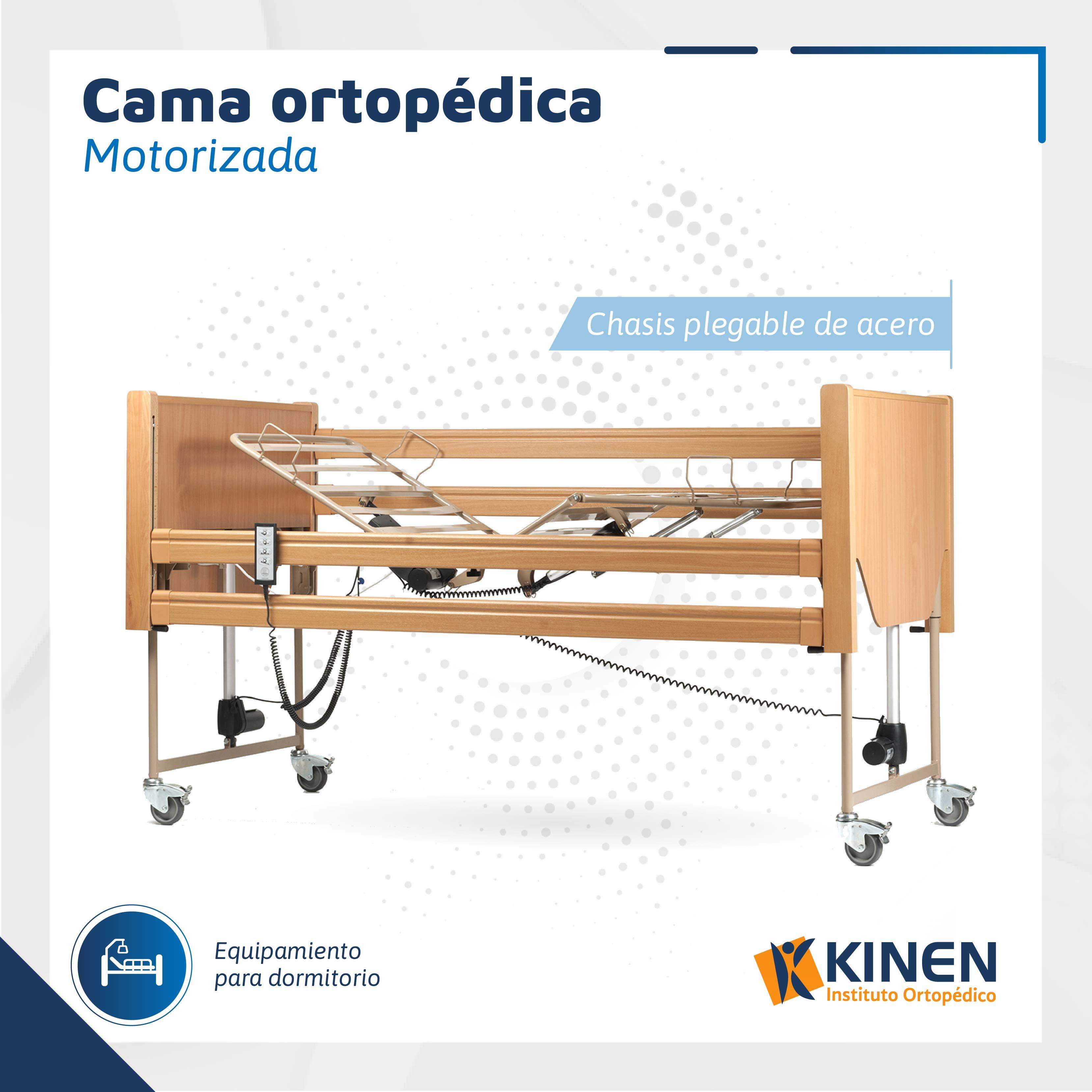 Cama ortopédica motorizada